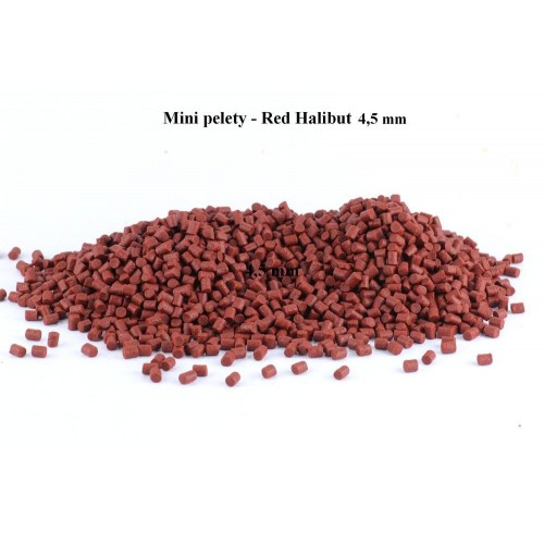 Pelety Mini - Red Halibut Coppens - 4,5 mm, 500 g